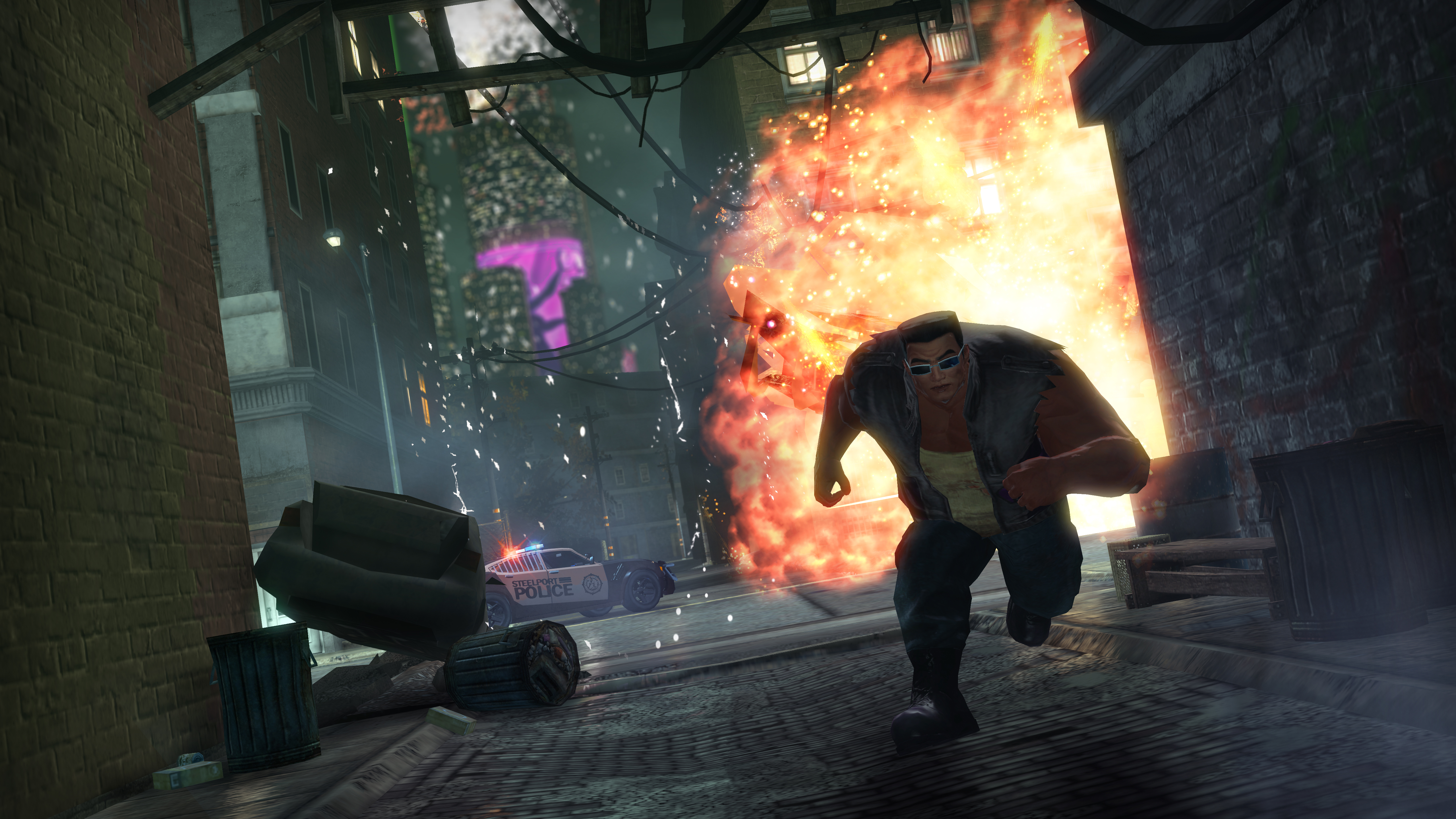 Saints Row: The Third - The Trouble with Clones DLC screenshot