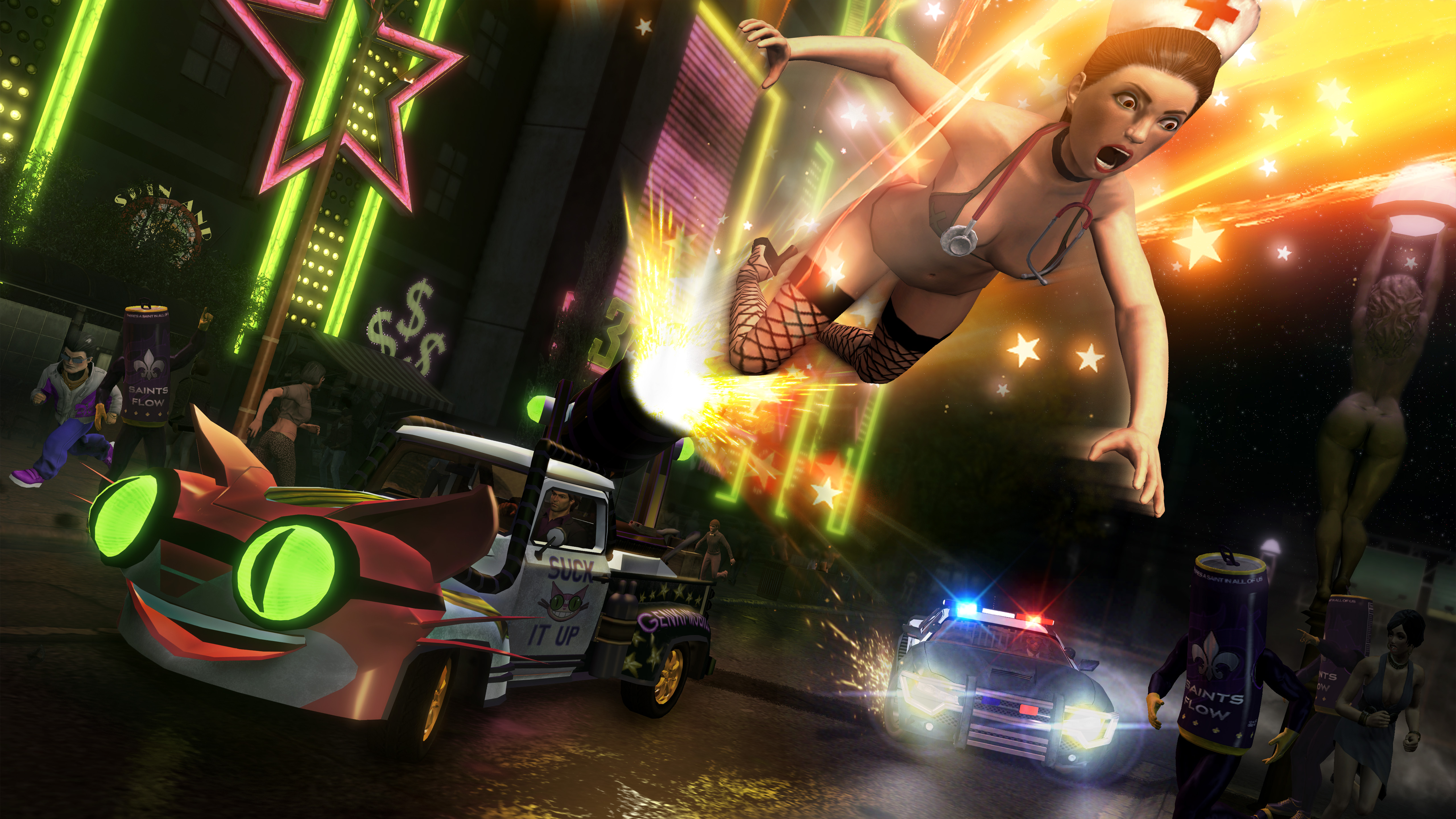 Saints Row: The Third - FUNTIME! Pack screenshot