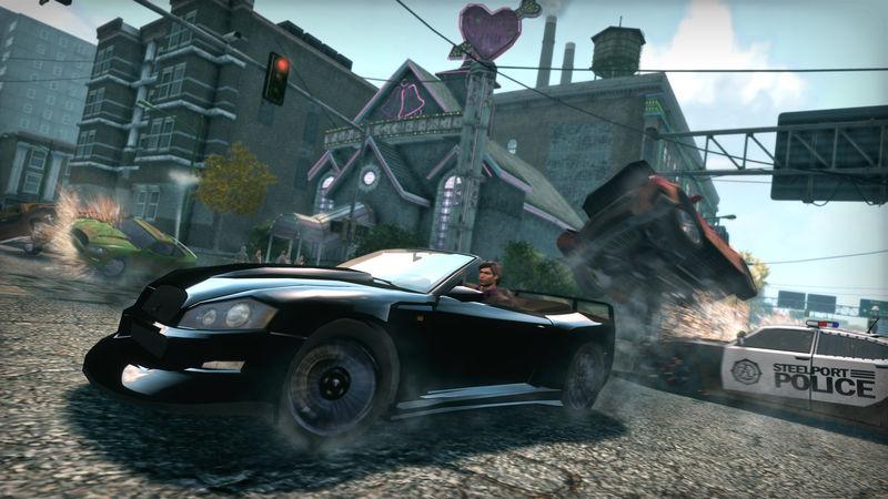 Saints Row: The Third Explosive Combat Pack screenshot