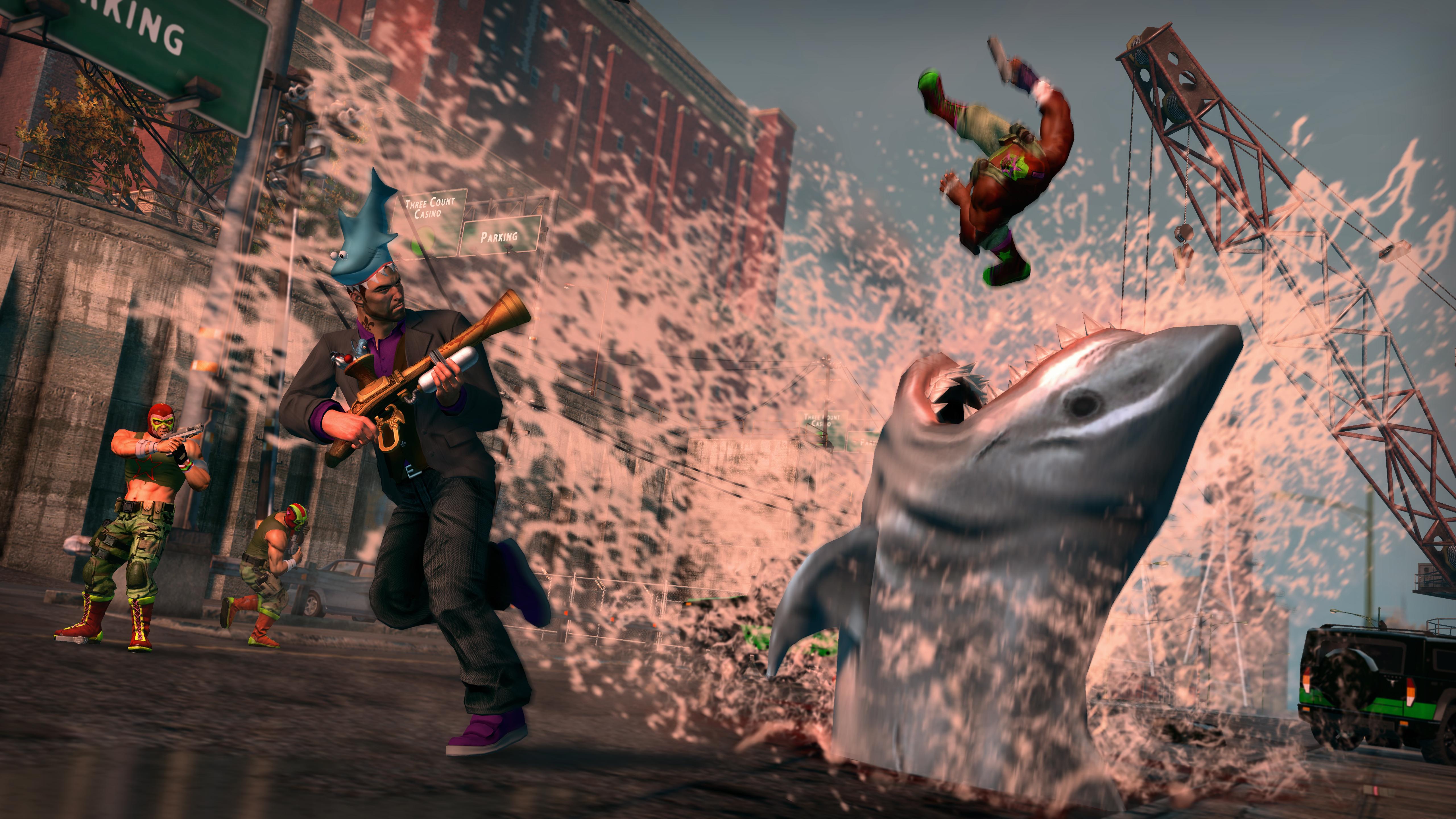 Saints Row: The Third Shark Attack Pack screenshot