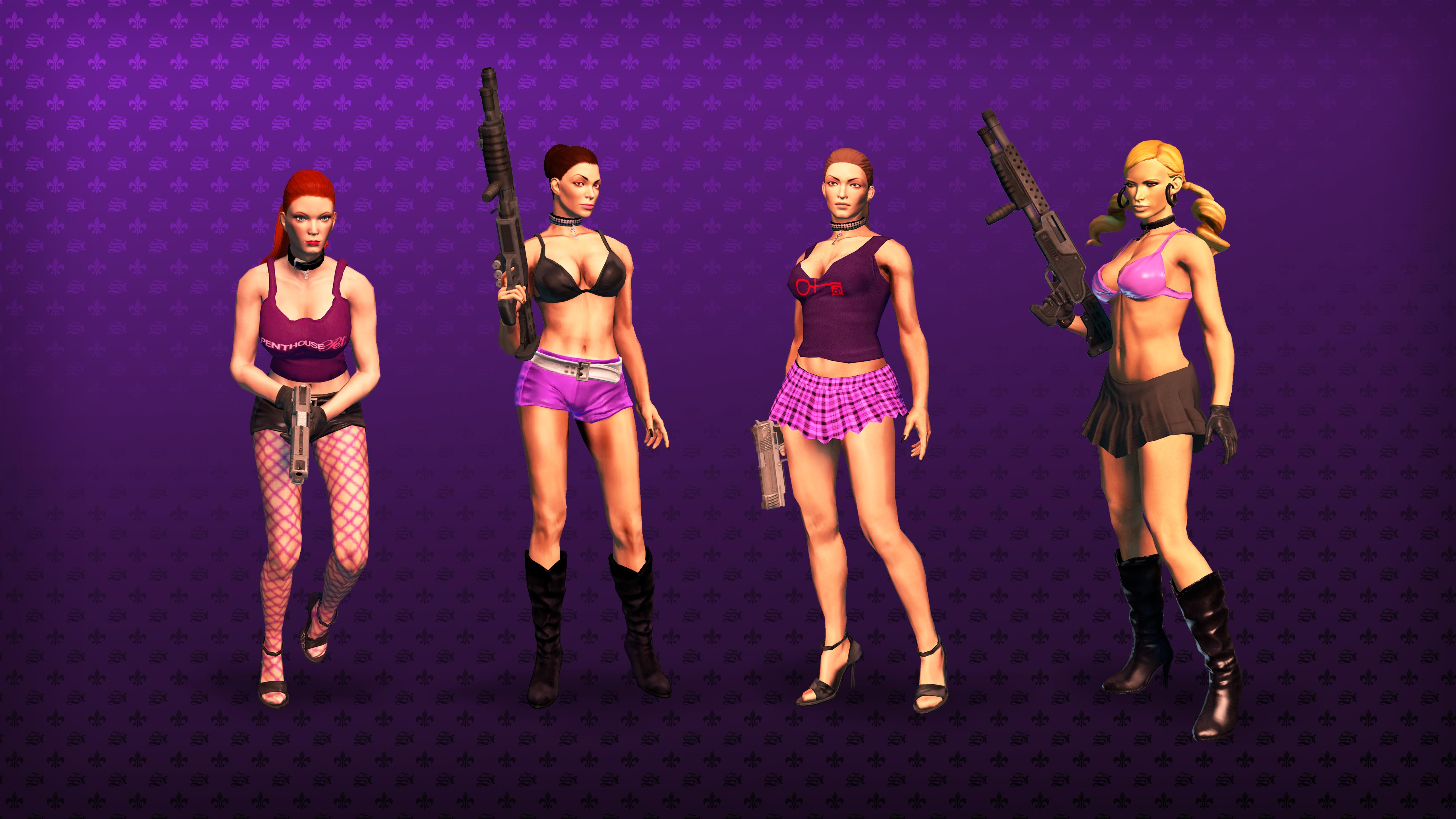 Saints Row: The Third - Penthouse Pack screenshot