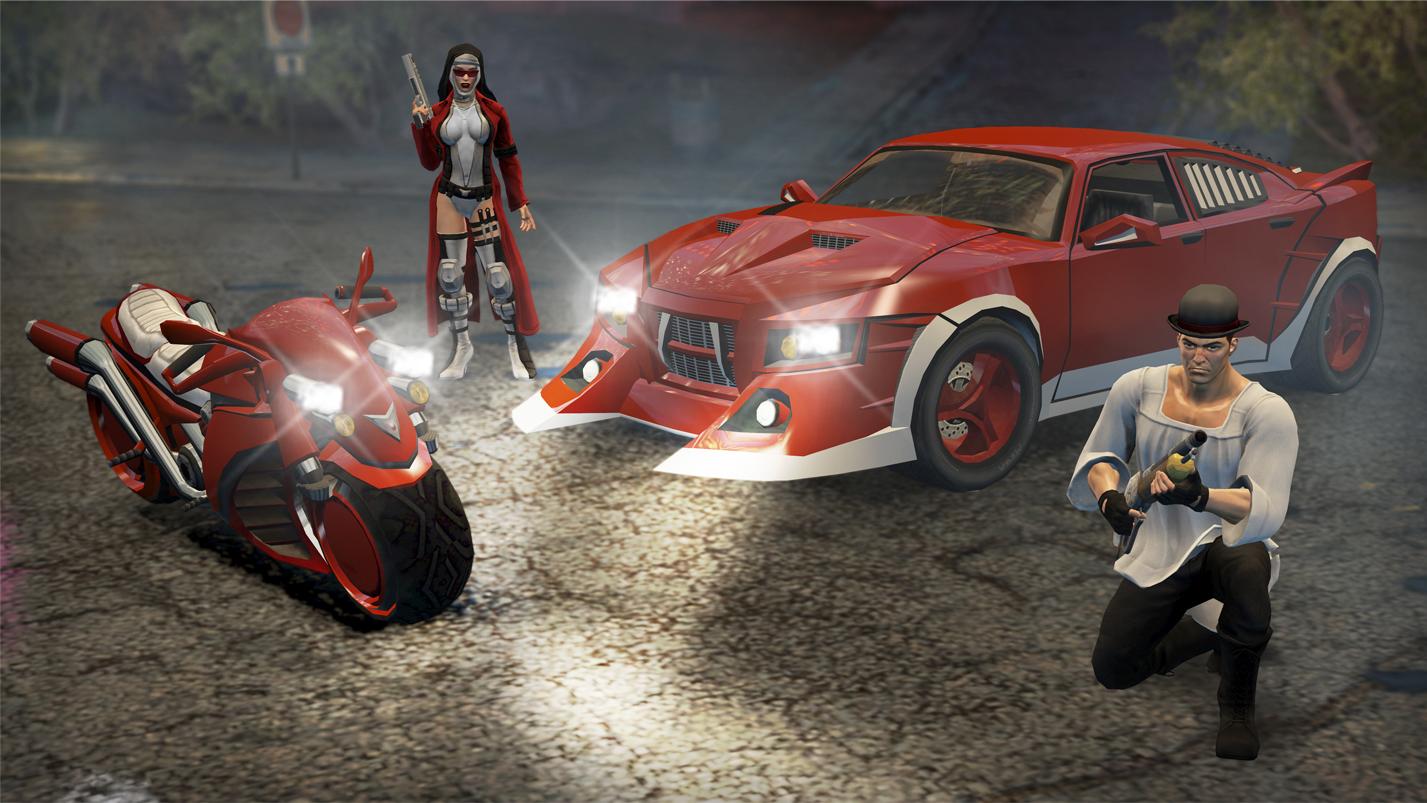Saints Row: The Third - Nyte Blayde Pack screenshot