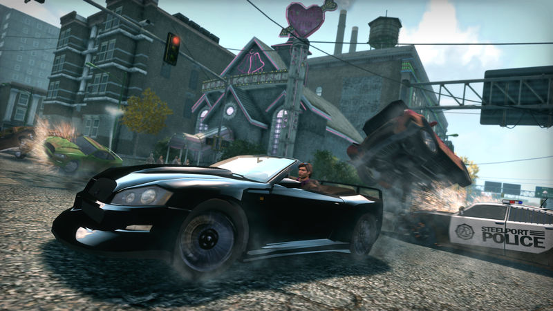 Saints Row: The Third - Special Ops Vehicle Pack screenshot