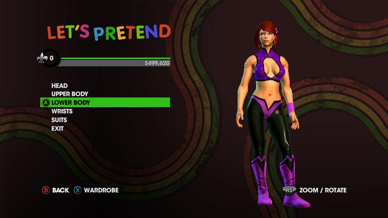 Saints Row: The Third - Genki Girl Pack screenshot