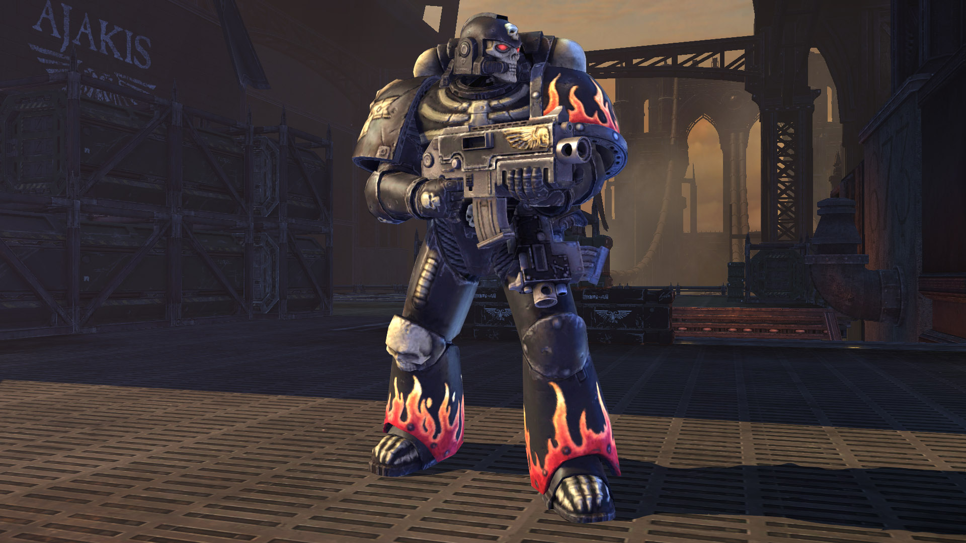 Warhammer 40,000: Space Marine - Legion of the Damned Armour Set screenshot