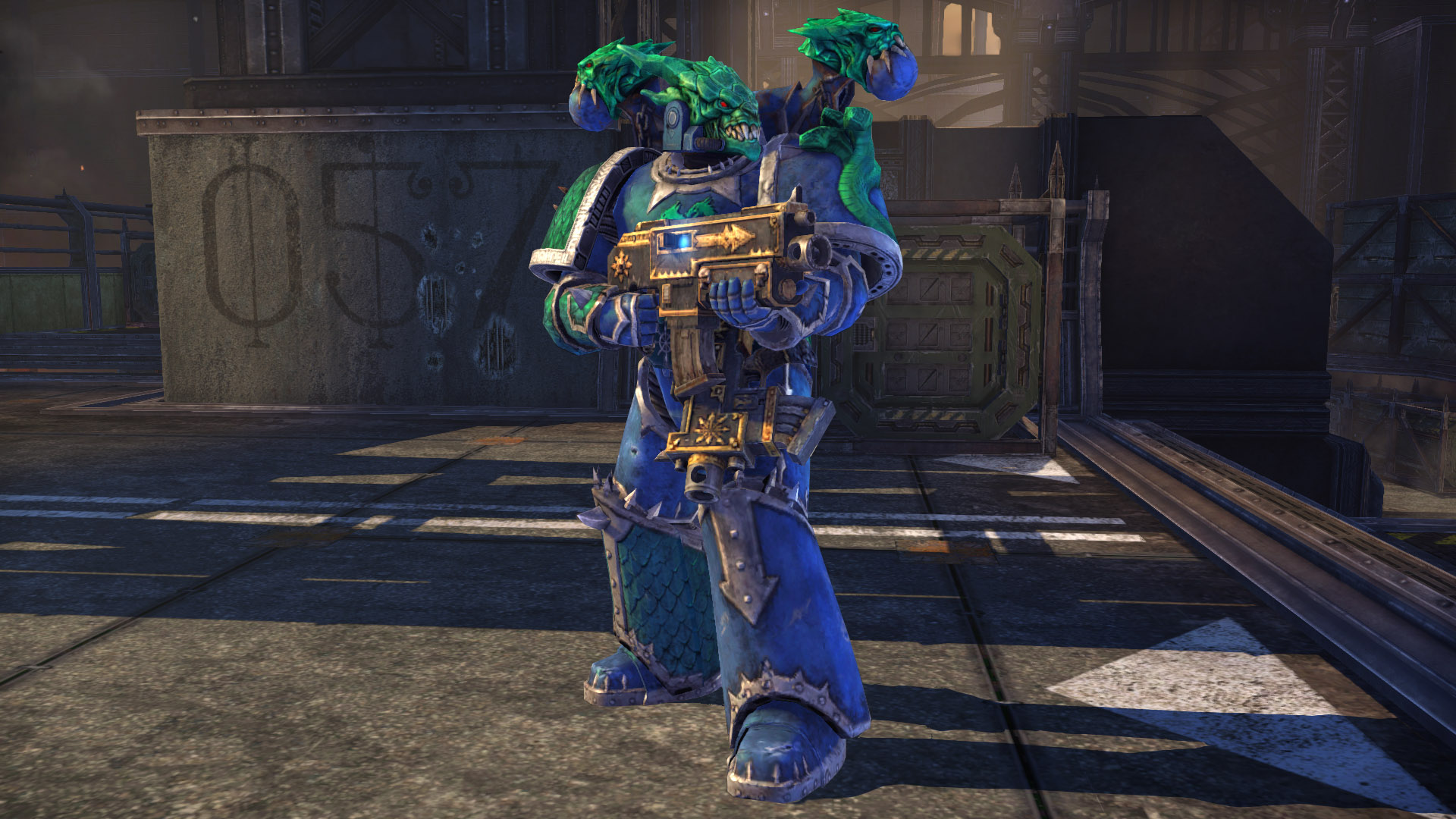Warhammer 40,000: Space Marine - Alpha Legion Champion Armour Set screenshot