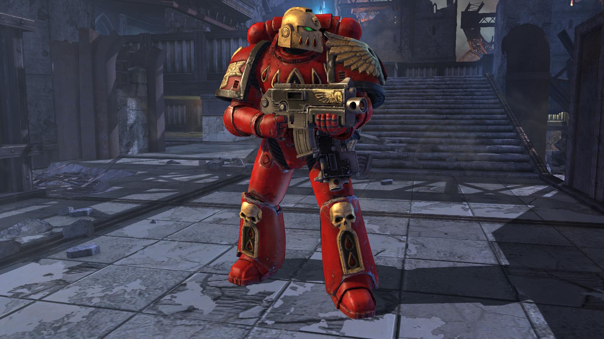 Warhammer 40,000: Space Marine - Blood Angels Veteran Armour Set screenshot