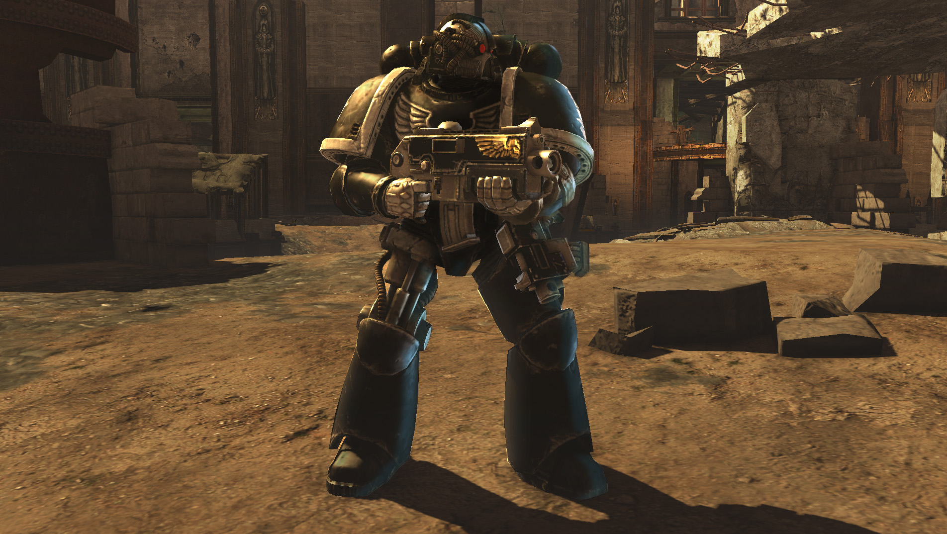 Warhammer 40,000: Space Marine - Iron Hands Chapter Pack DLC screenshot