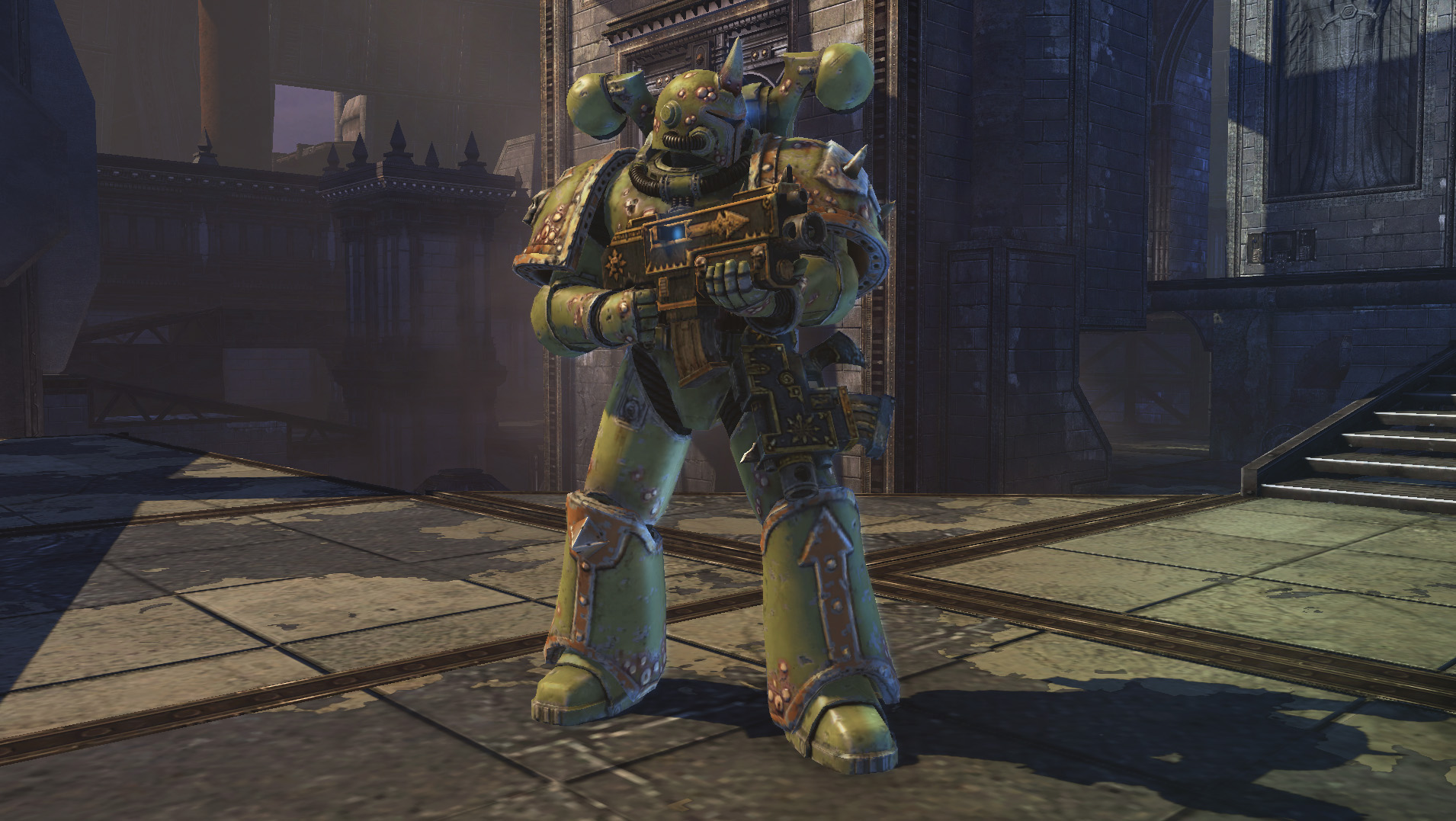Warhammer 40,000: Space Marine - Death Guard Champion Chapter Pack DLC screenshot