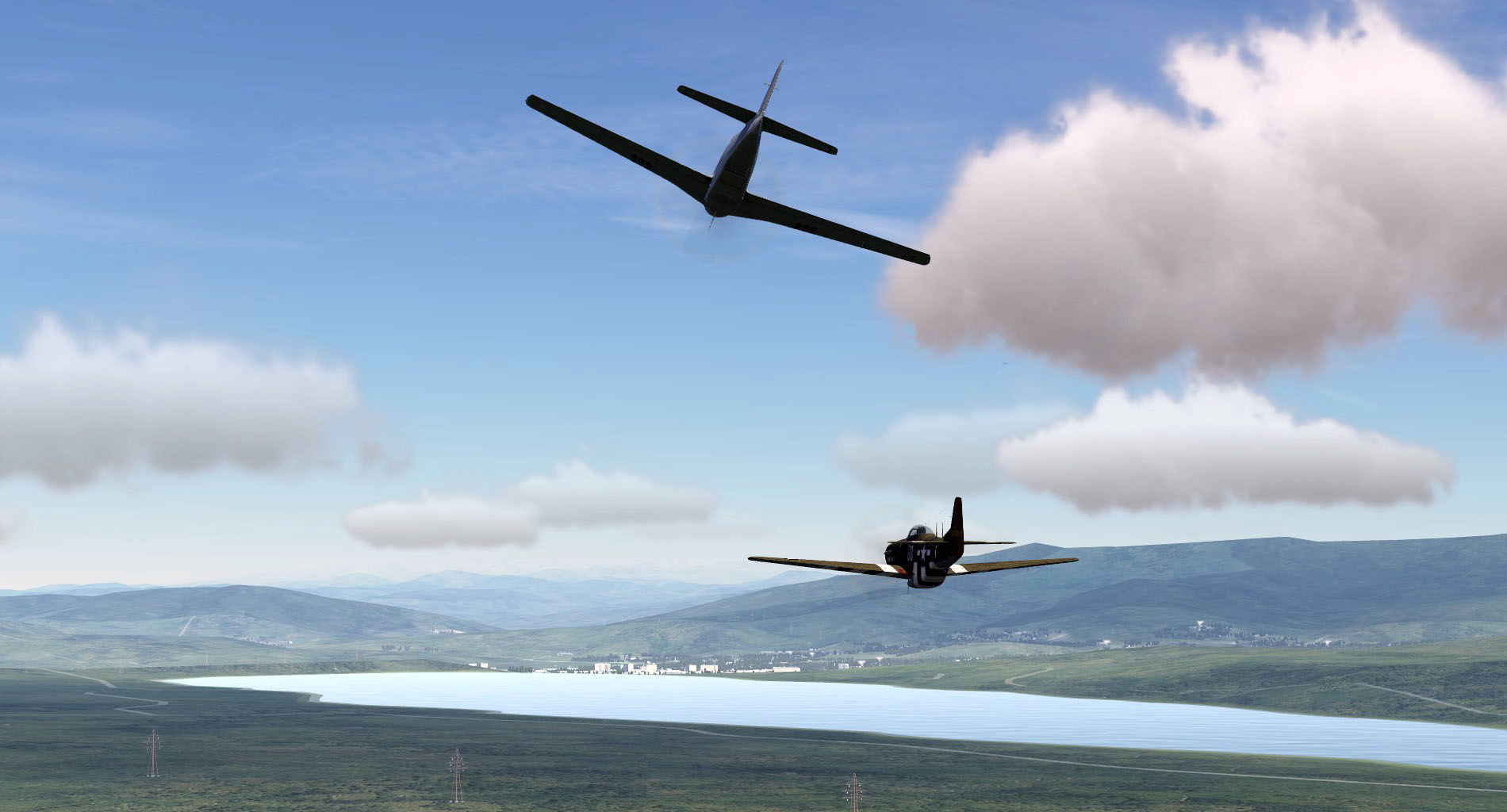 P-51D: High Stakes Campaign screenshot