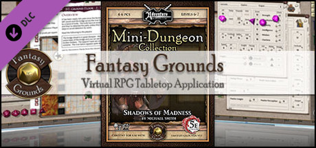 Fantasy Grounds - Mini-Dungeon #017: Shadows of Madness (5E)