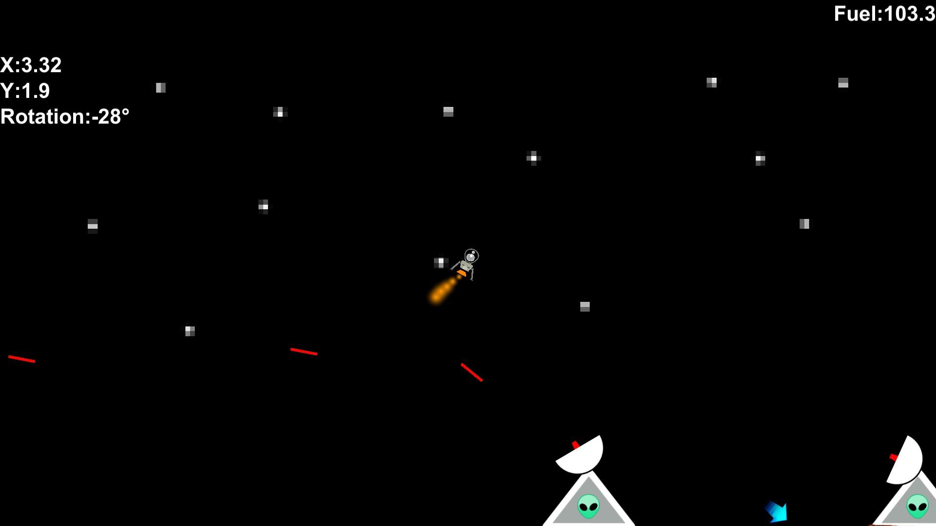 Galactic Landing screenshot