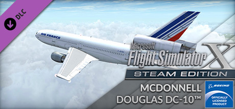 FSX Steam Edition: McDonnell Douglas DC-10