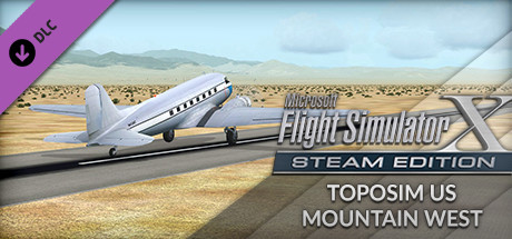 FSX Steam Edition: Toposim US Mountain West Add-On