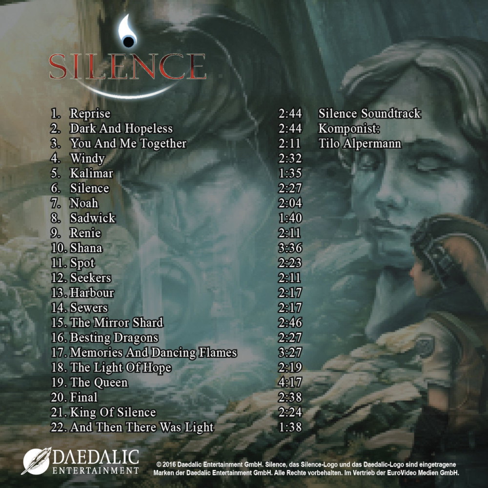 Silence Soundtrack screenshot