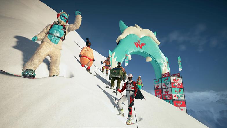 Steep - Winterfest Pack screenshot
