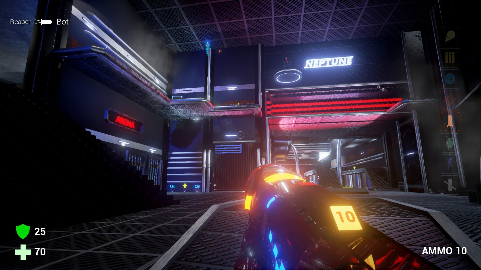 Neptune: Arena FPS screenshot
