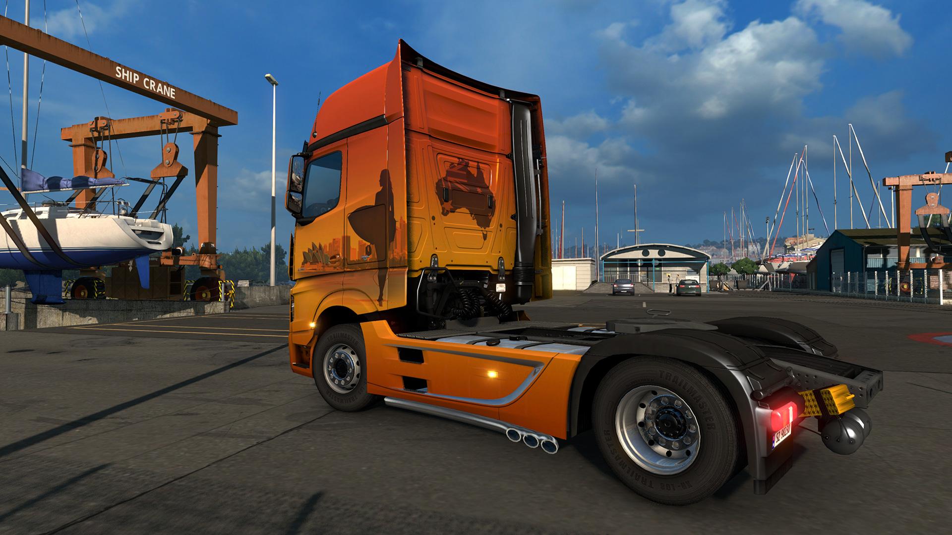 Euro Truck Simulator 2 - Australian Paint Jobs Pack screenshot