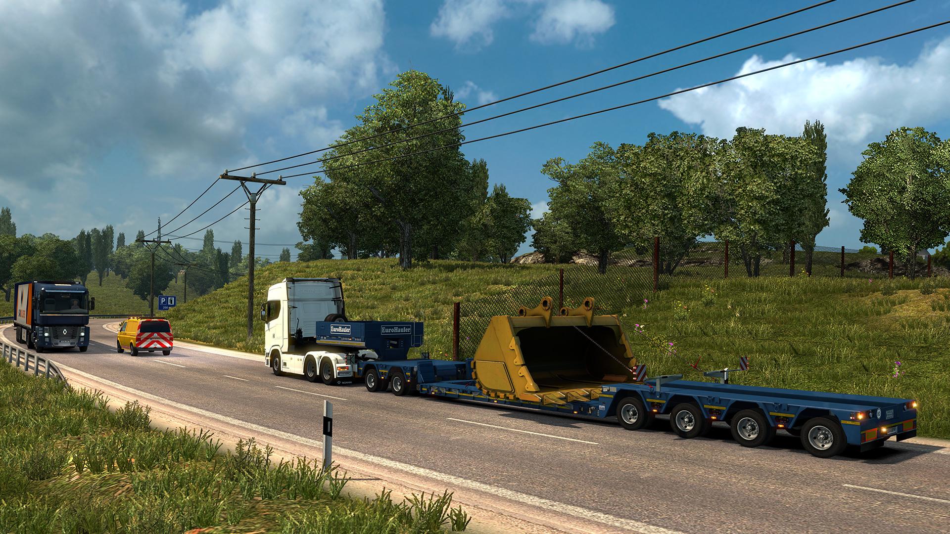 Euro Truck Simulator 2 - Special Transport screenshot