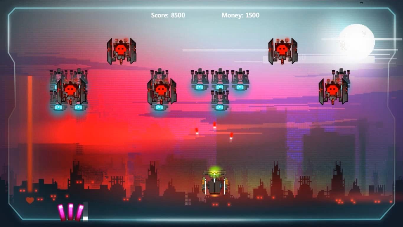 Steel Invaders screenshot