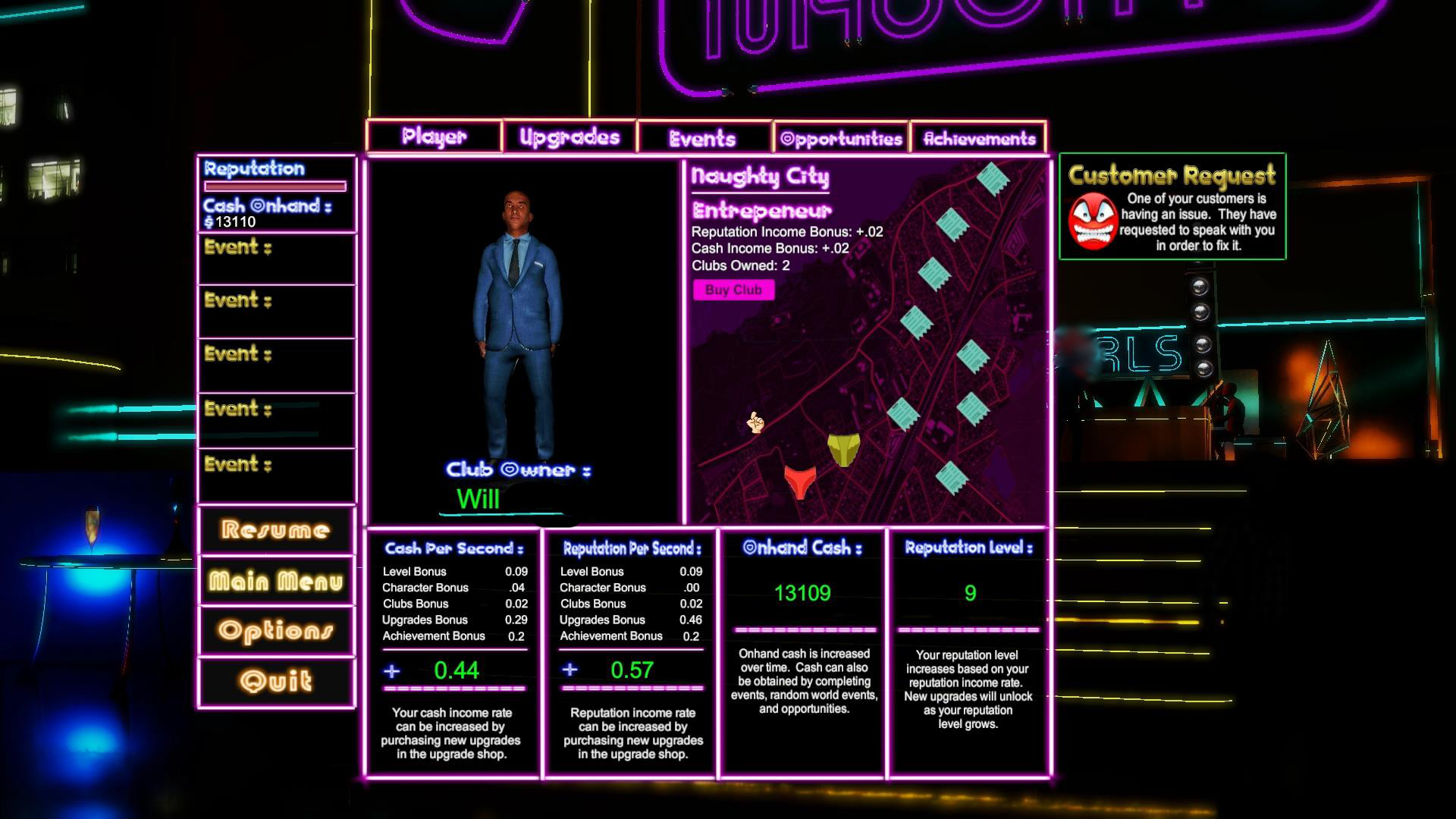 Club Naughty screenshot