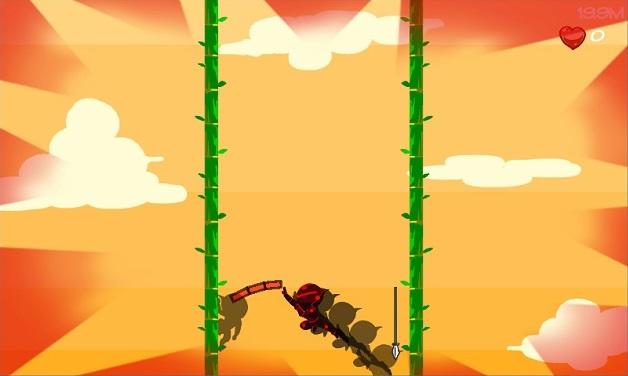 Leap Up no jutsu screenshot