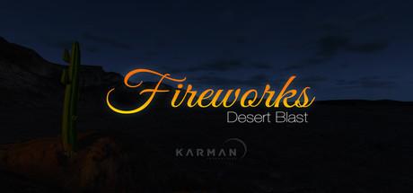 Fireworks Desert Blast