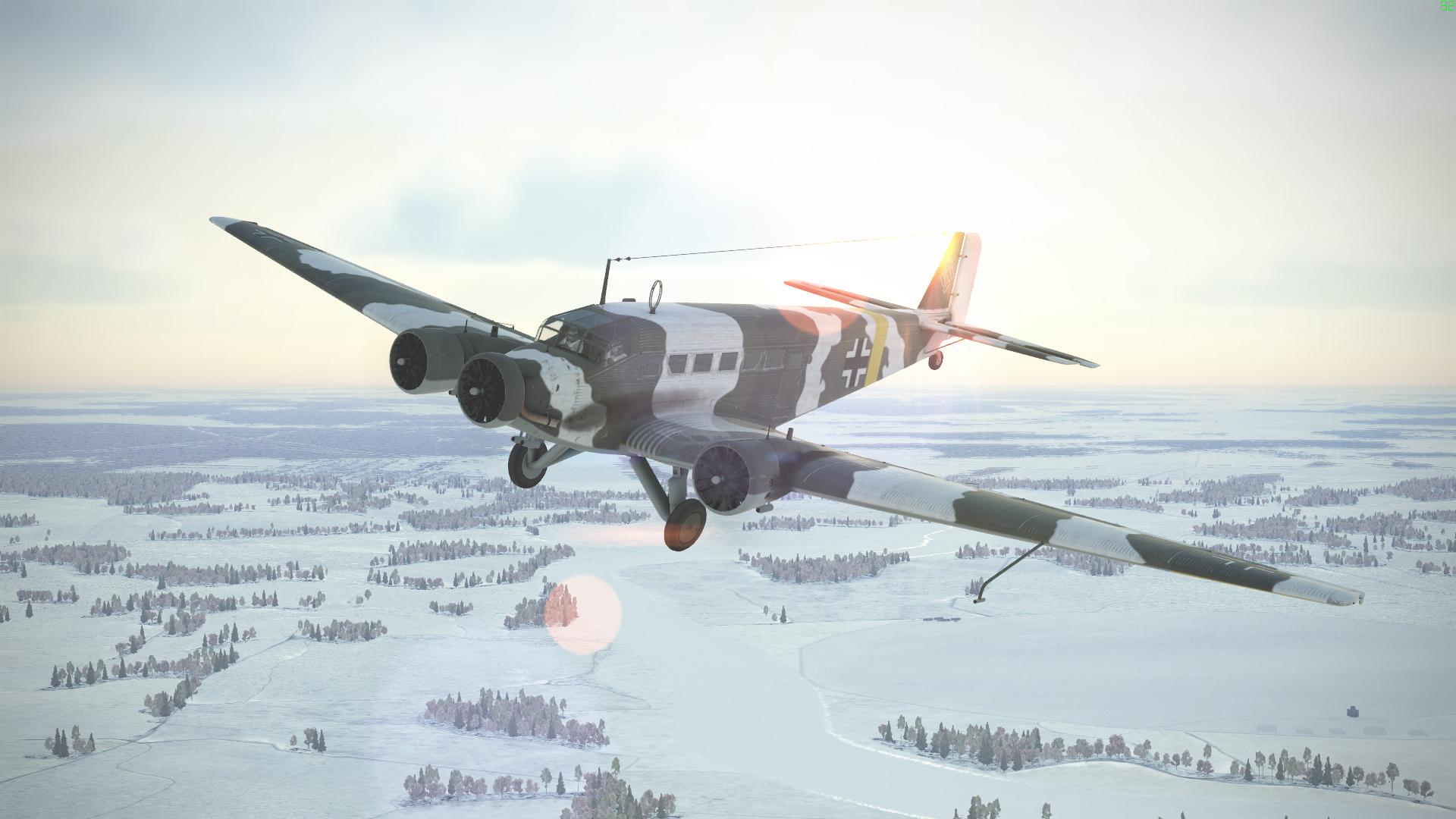 IL-2 Sturmovik: Ju 52/Зm Collector Plane screenshot