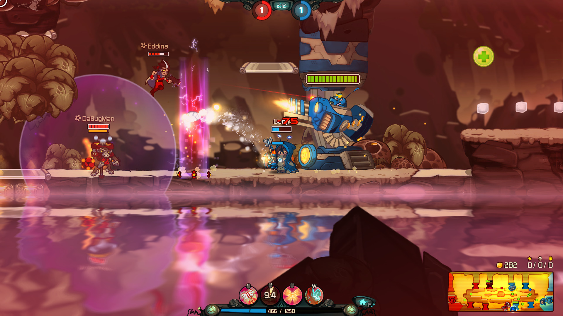 Genji the Pollen Prophet - Awesomenauts Character screenshot