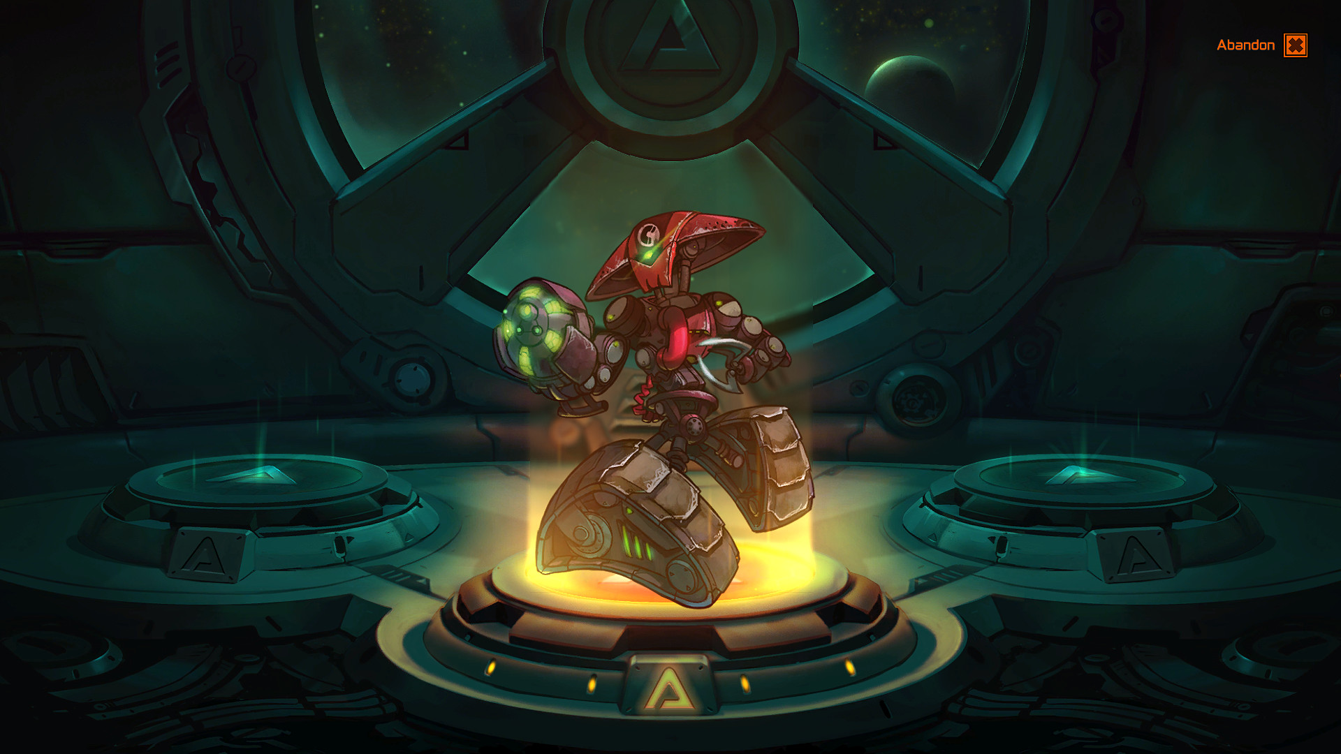 Sentry X-58 - Awesomenauts Character screenshot