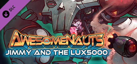 Jimmy and the LUX5000 - Awesomenauts Character