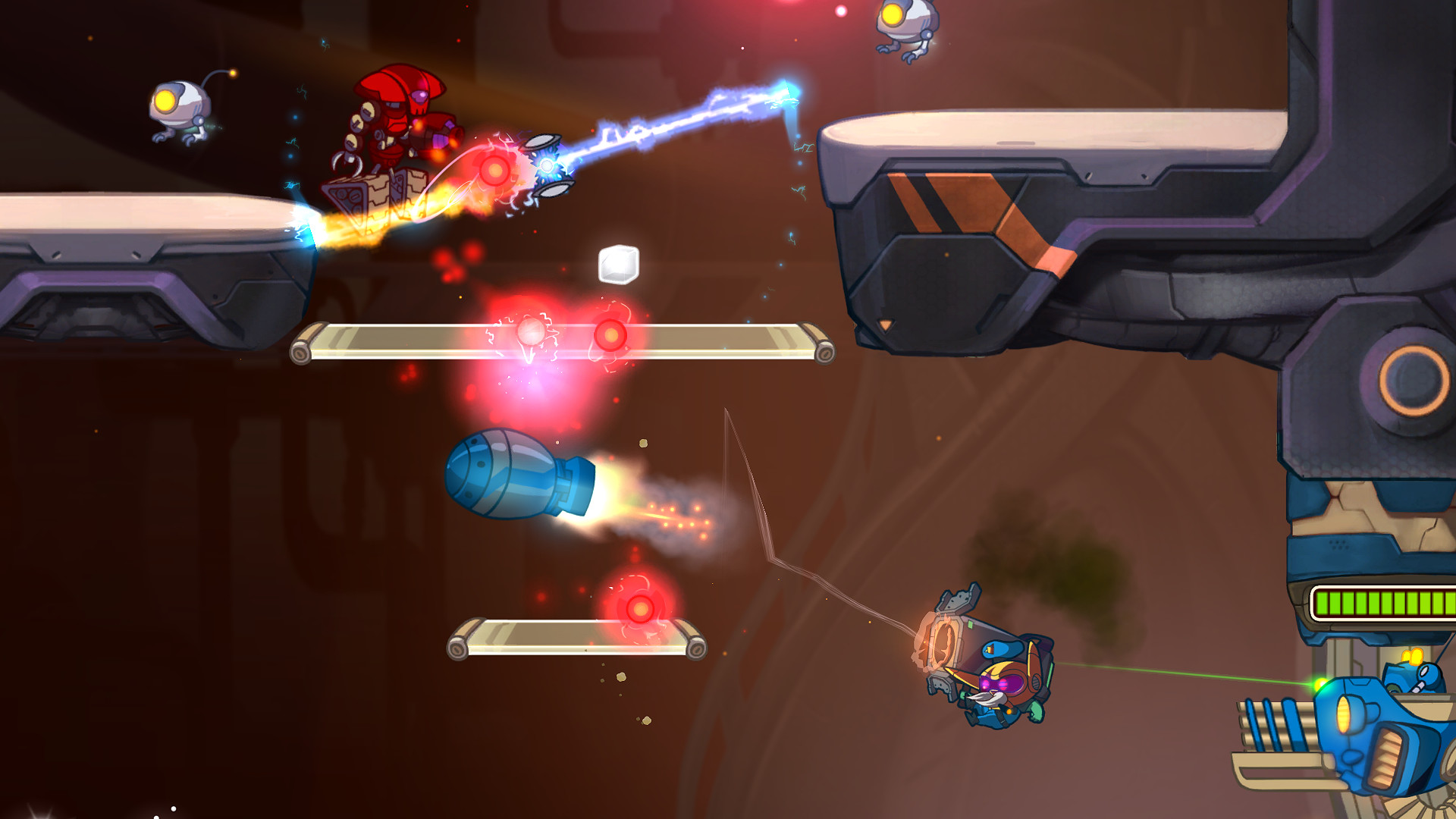 Commander Rocket - Awesomenauts Character screenshot