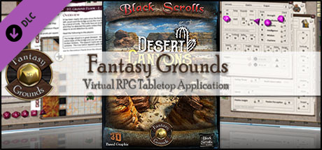Fantasy Grounds - Desert Canyons (Map Pack)