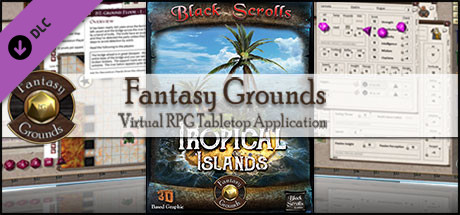 Fantasy Grounds - Tropical Islands (Map Pack)