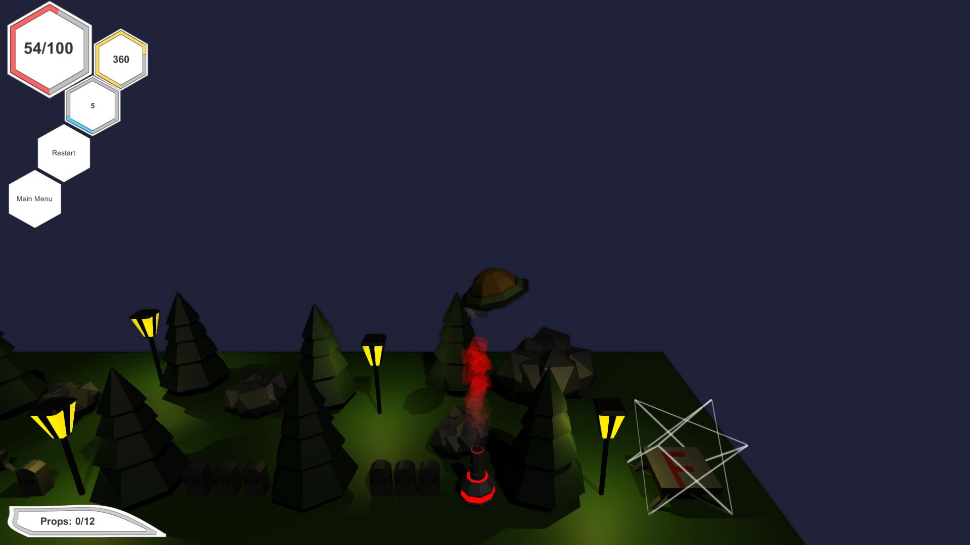 Alien Hostage screenshot