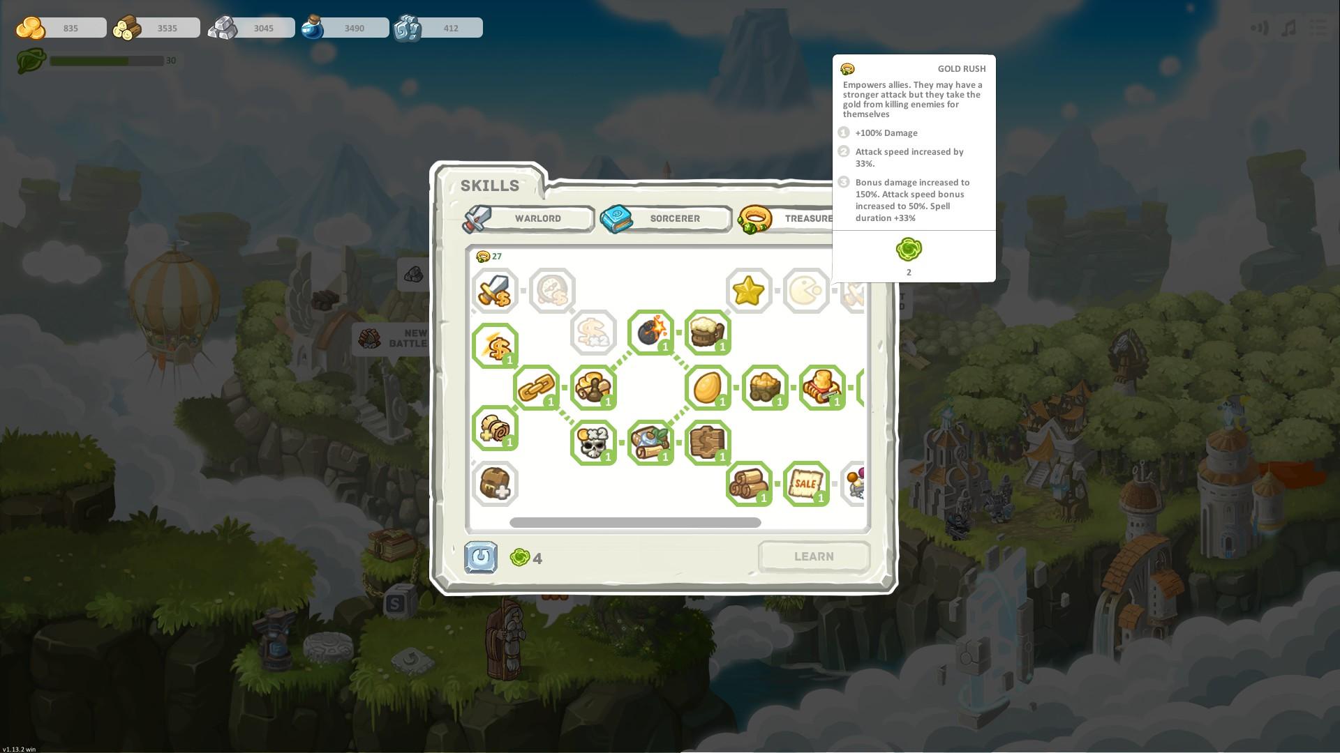 Warstone TD screenshot