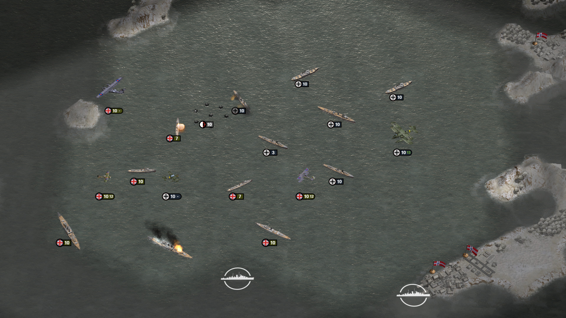 Order of Battle: Kriegsmarine screenshot