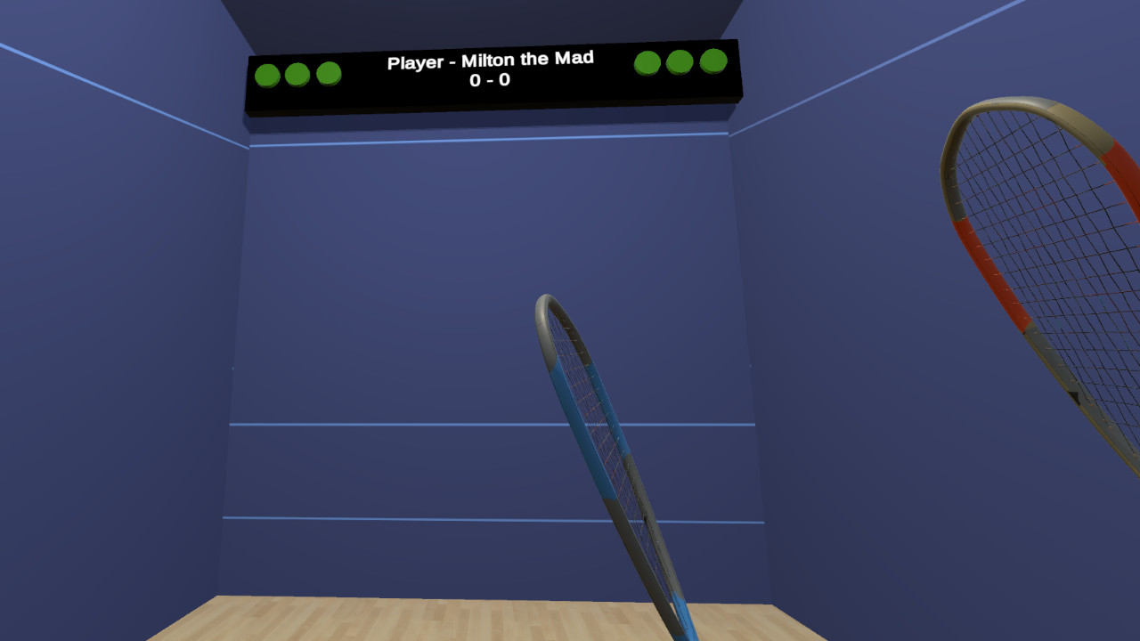 VR Squash 2017 screenshot