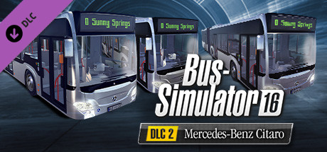 bus simulator 16 mercedes benz citaro pack on steam. Black Bedroom Furniture Sets. Home Design Ideas