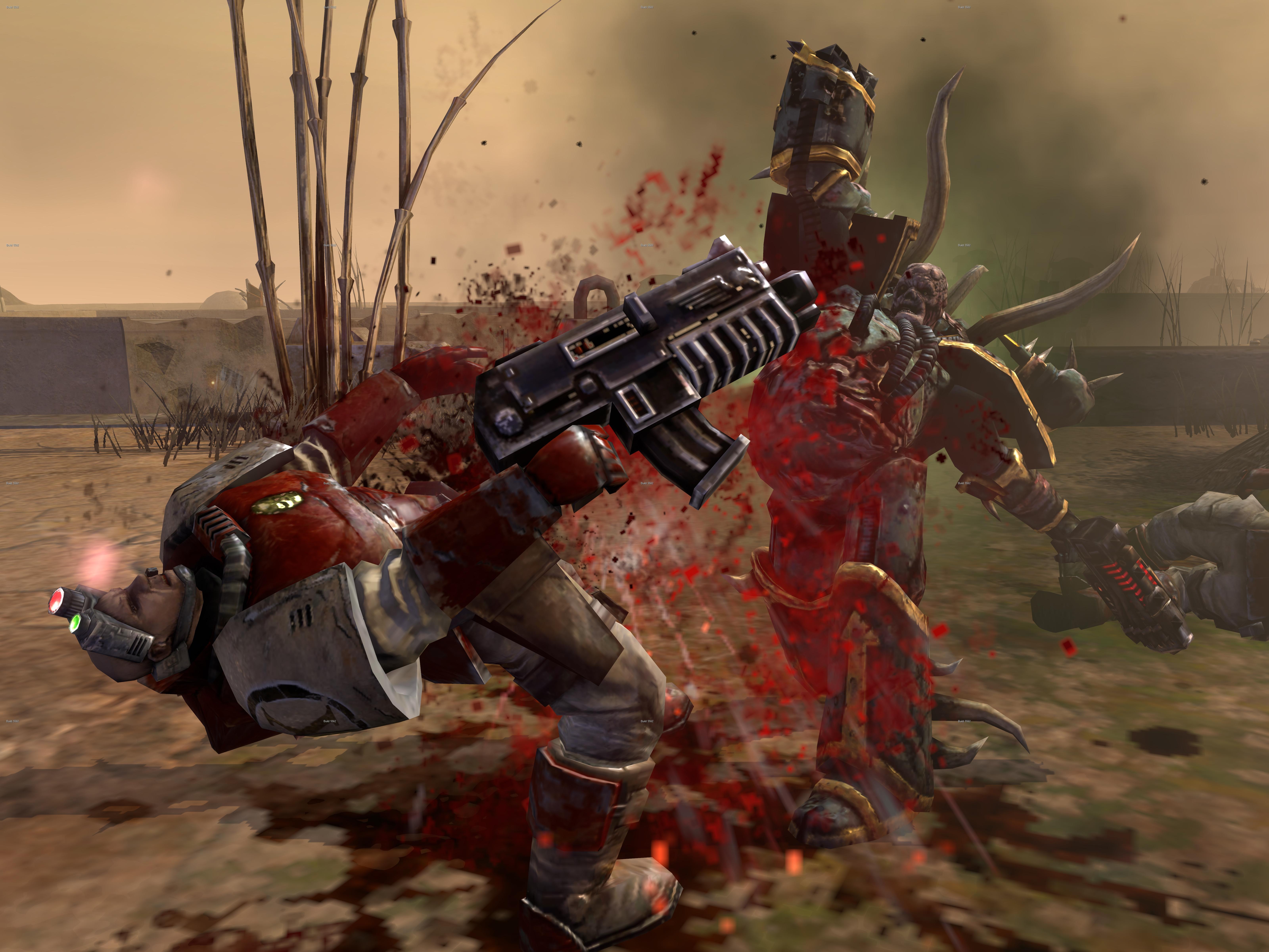 Warhammer 40,000: Dawn of War II - Retribution Chaos Space Marines Race Pack screenshot