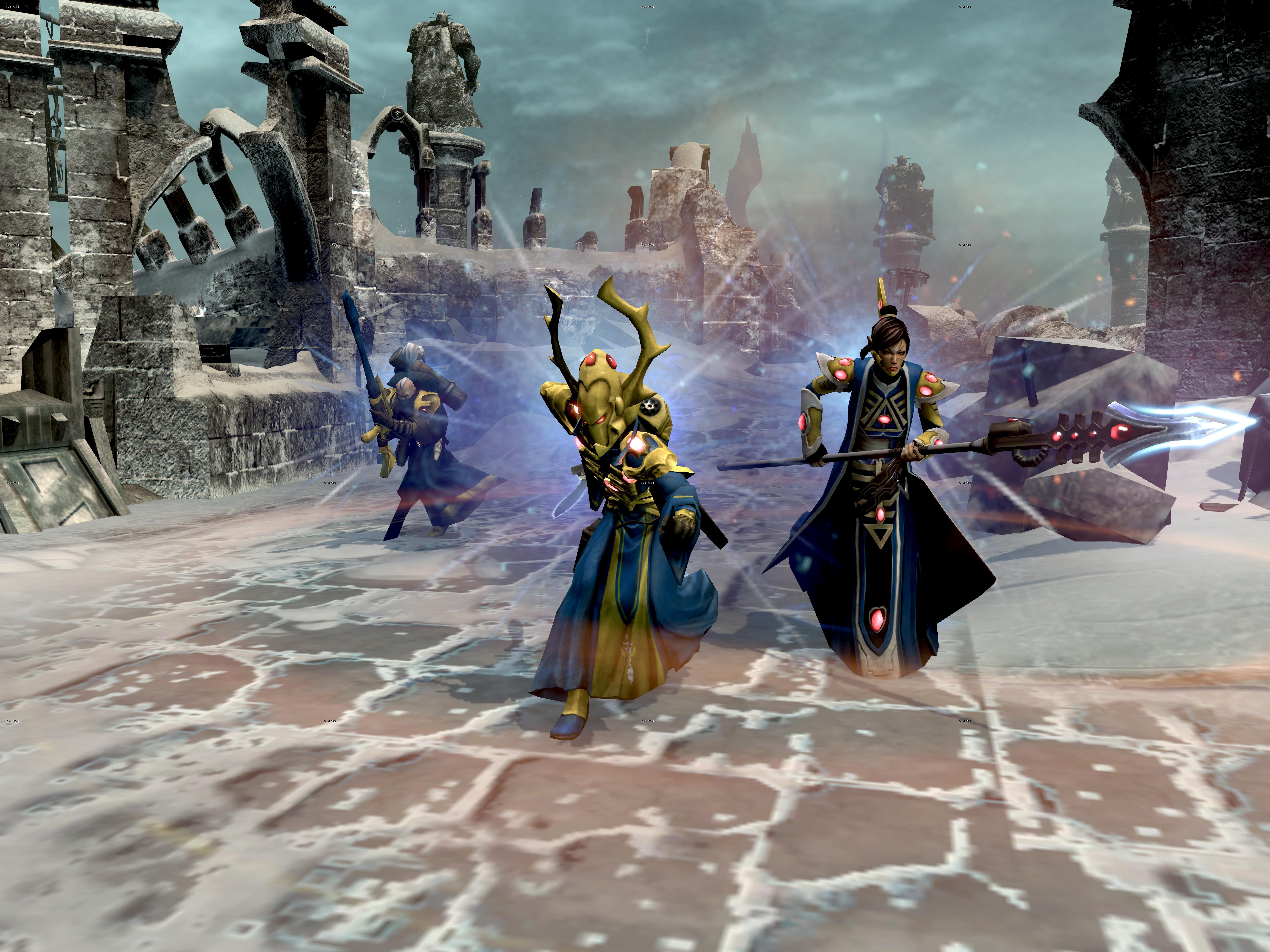 Warhammer 40,000: Dawn of War II - Retribution Eldar Race Pack screenshot