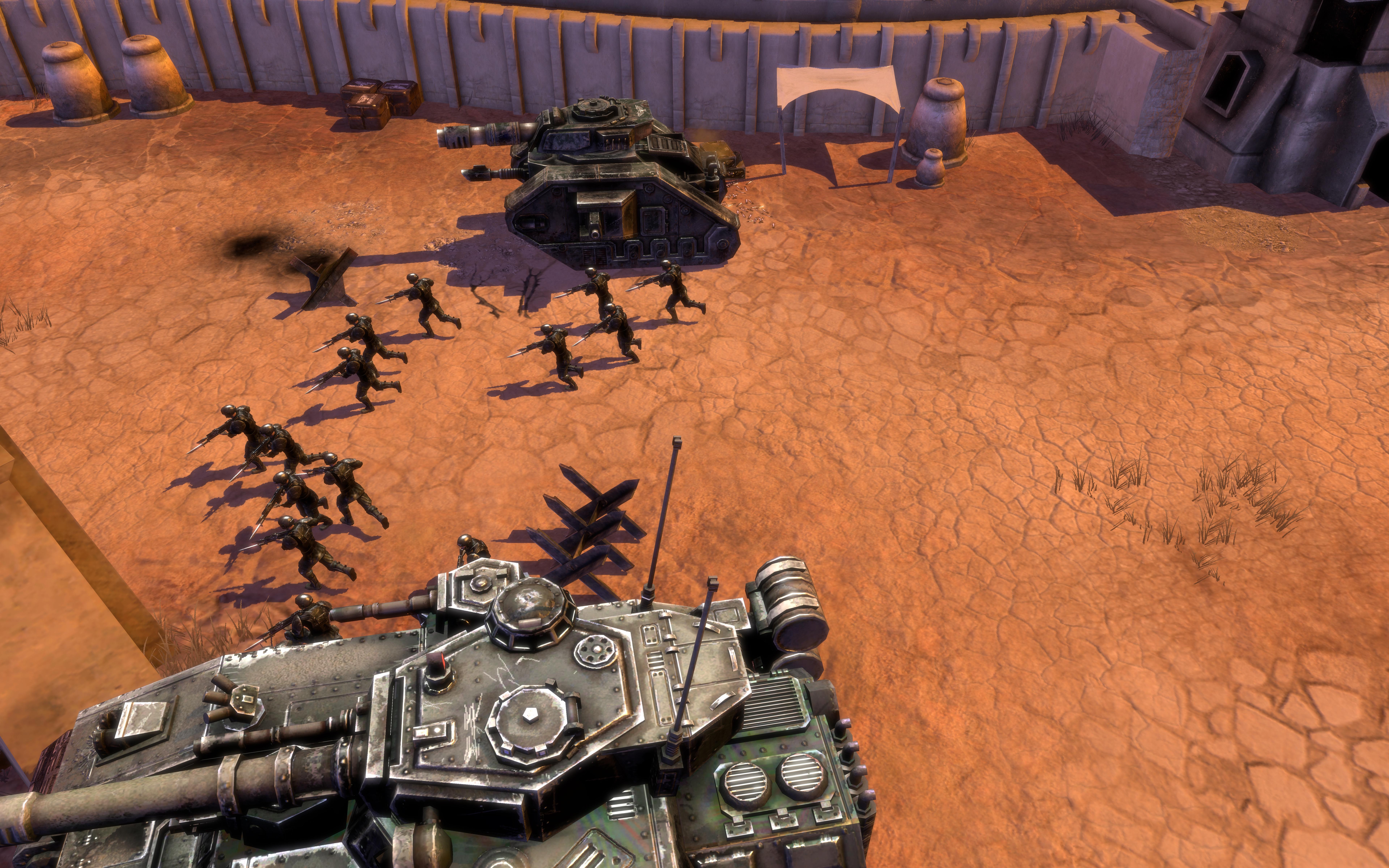 Warhammer 40,000: Dawn of War II - Retribution Imperial Guard Race Pack screenshot