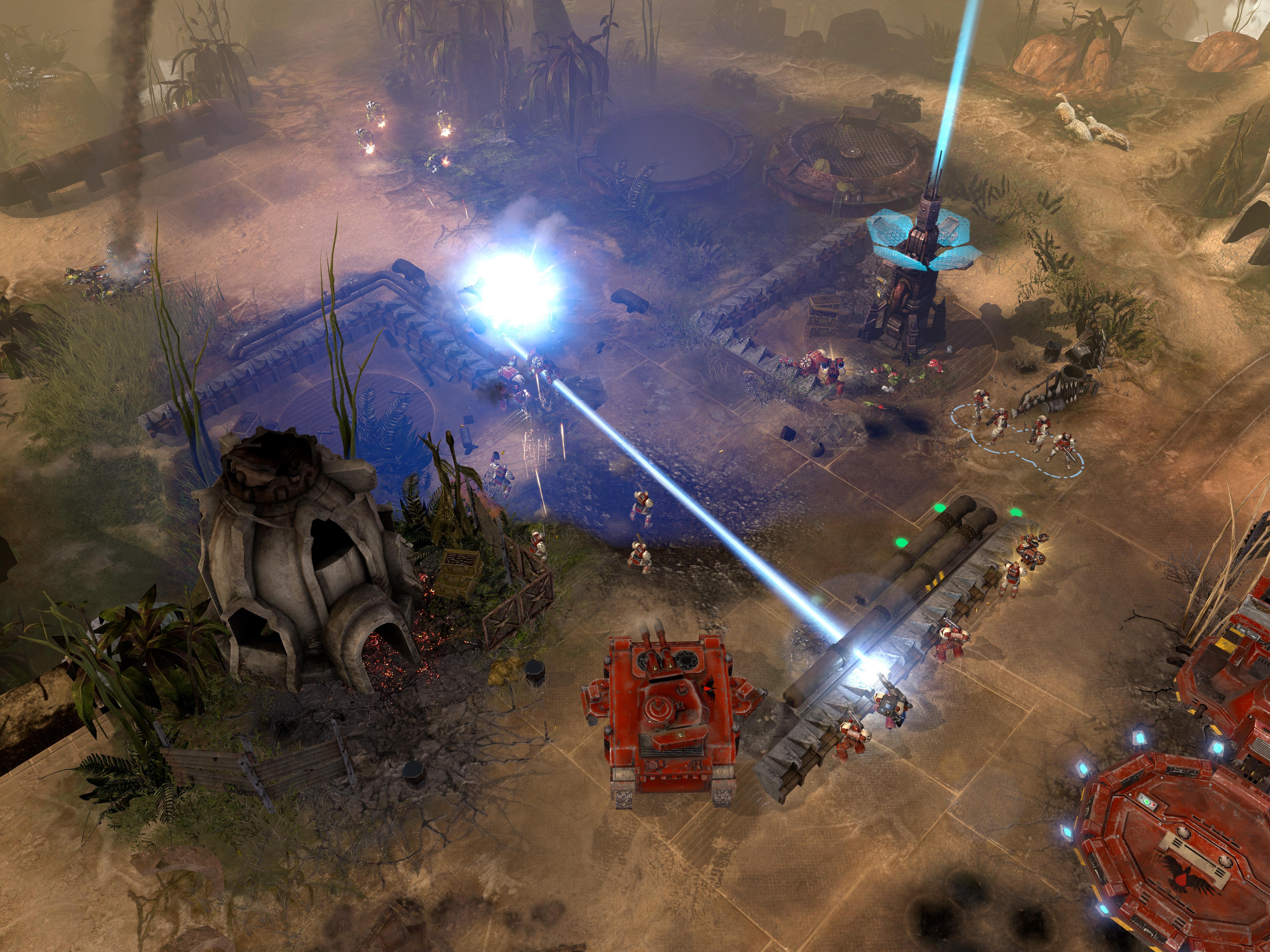 Warhammer 40,000: Dawn of War II - Retribution Space Marines Race Pack screenshot