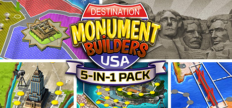 5-in-1 Pack - Monument Builders: Destination USA