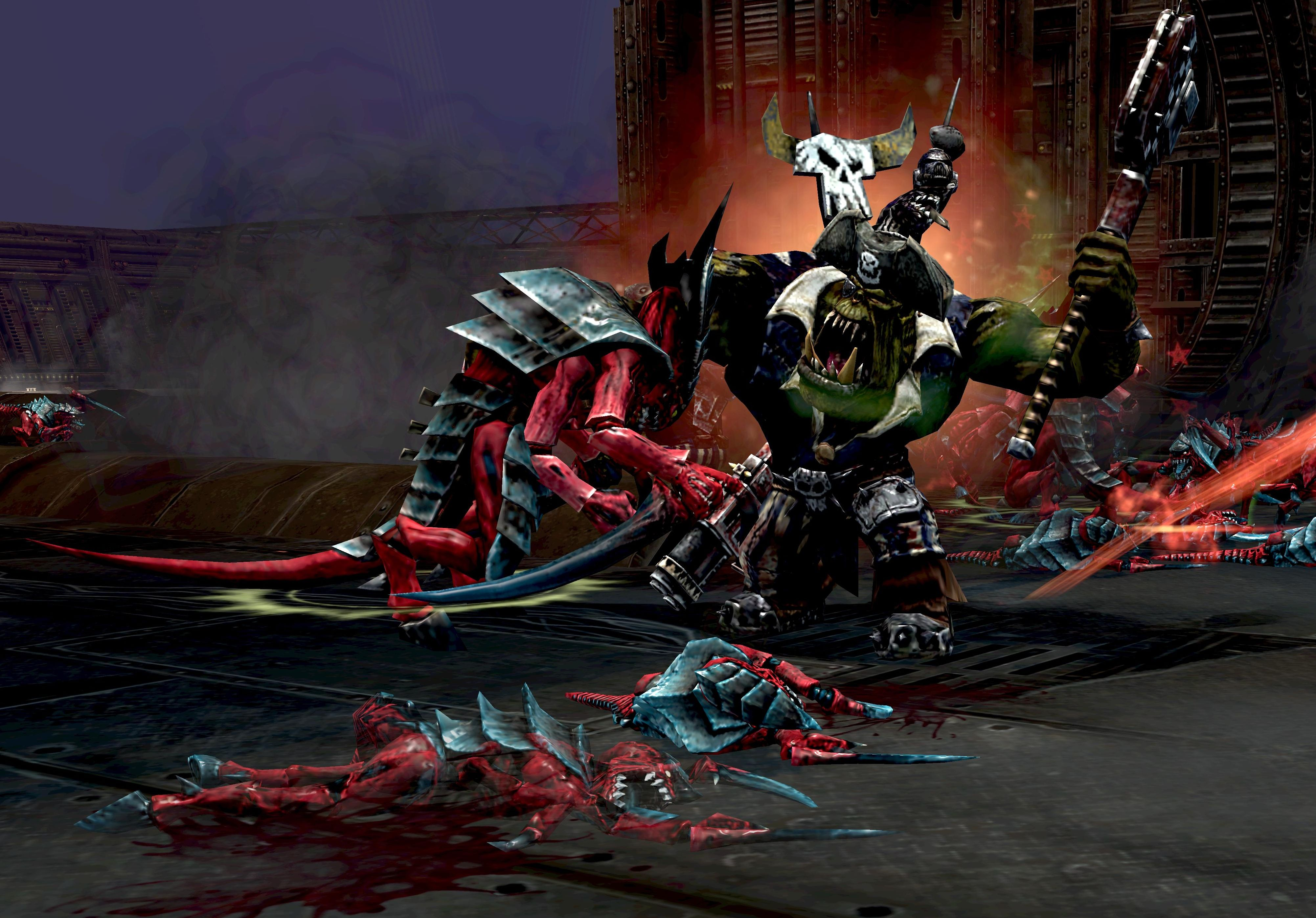 Warhammer 40,000: Dawn of War II - Retribution Ork Race Pack screenshot