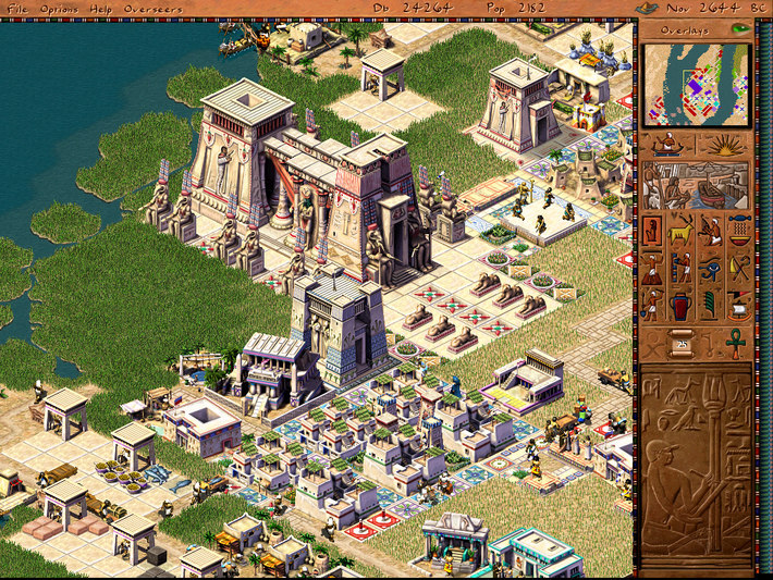 Pharaoh + Cleopatra screenshot