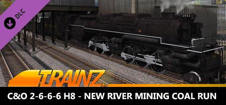 Trainz 2019 DLC: C&O 2-6-6-6 H8 - New River Mining Coal Run