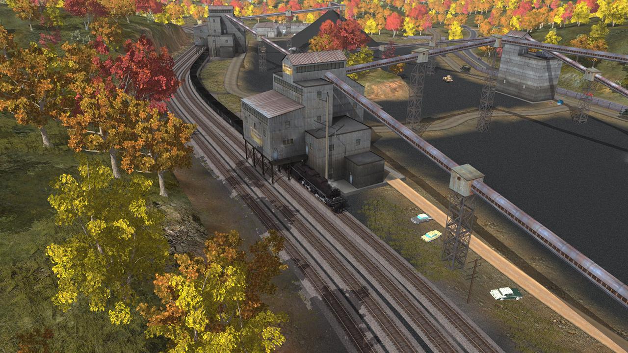 Trainz 2019 DLC: C&O 2-6-6-6 H8 - New River Mining Coal Run screenshot