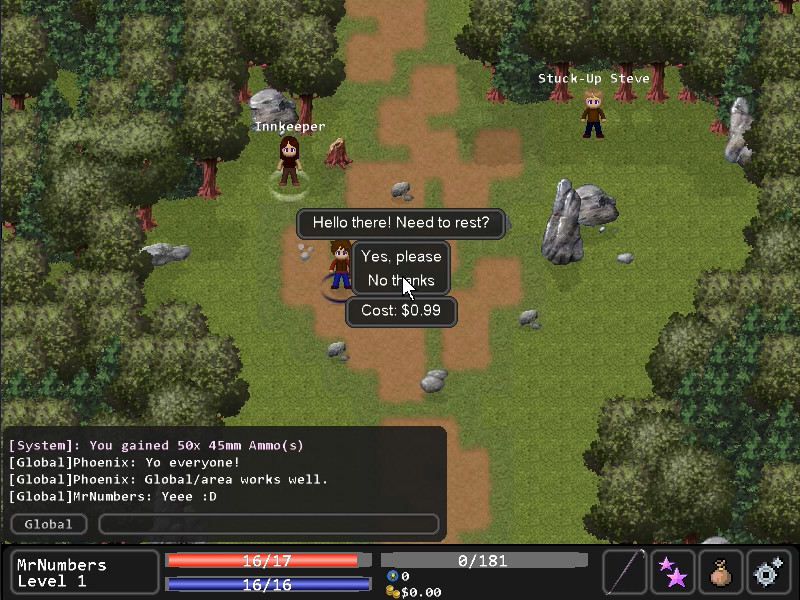 001 Game Creator - MMORPG Kit screenshot