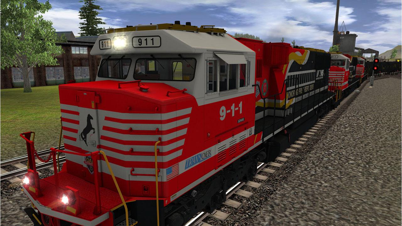 Trainz 2019 DLC: NS SD60E First Responders screenshot